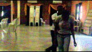 Lamide & Genevieve Rehearsing to La Loteria - King Bongo