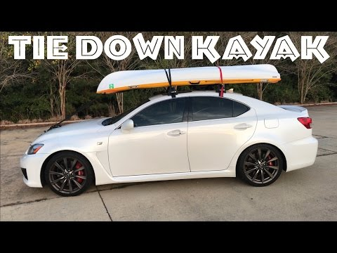 ⛩Best Roof Rack for Kayak | How to Load & Tie Down a Kayak on to a Car with A Roof Rack