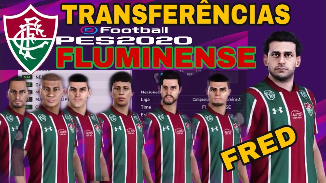 PES 2020 Fluminense Transferências 2020 como atualizar elenco #PES2020 #Fluminense #Fred