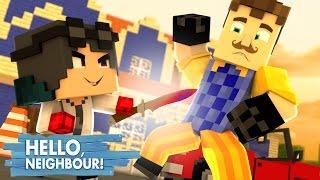 Minecraft: HELLO NEIGHBOR - FACA QUENTE  VS VIZINHO!