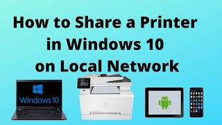 How to Share a Printer in Windows 10 on Local Network