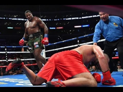 Luis Ortiz vs Razvan Cojanu Full Fight TKO Highlights