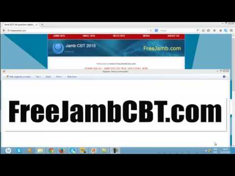 jamb 2015-2016 CBT computer based questions