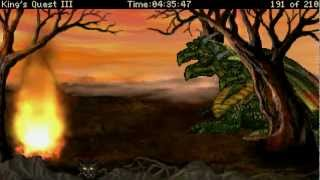 Let's Play King's Quest III Redux: To Heir is Human (AGDI Remake), Part 23 (Bonus - All the Deaths)