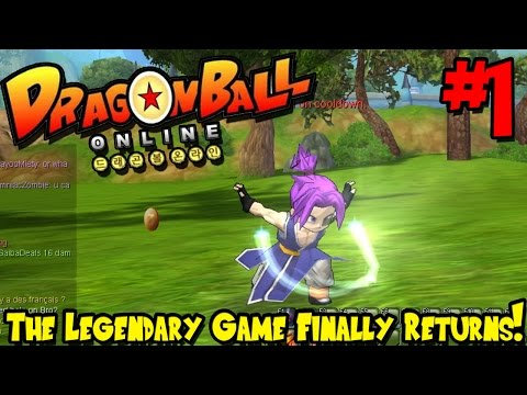 THE LEGENDARY GAME IS BACK! | Dragon Ball Online (Pre-Beta) - Episode 1
