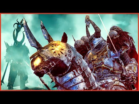 CRUSH THE EMPIRE! - Chaos vs Empire - Total War WARHAMMER 2 Cinematic Battle Machinima |