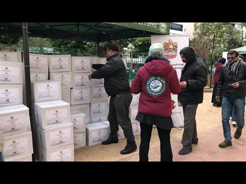 الإمارات تواصل مساعدة النازحين في لبنان  - 13:55-2019 / 1 / 18