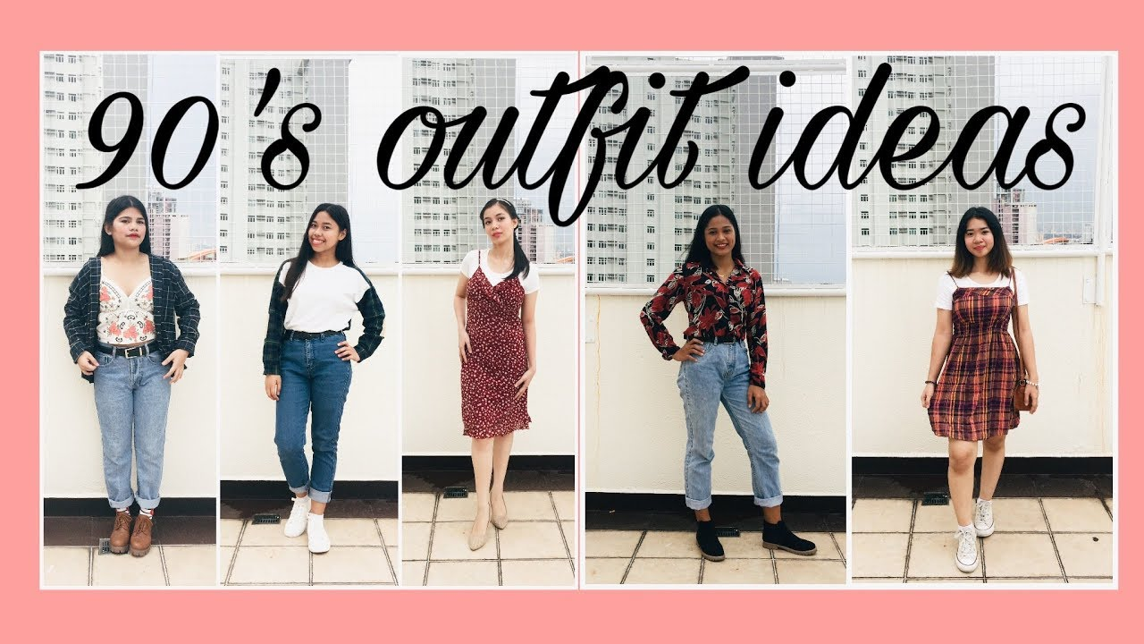 90's Outfit Ideas #OOTD - YouTube