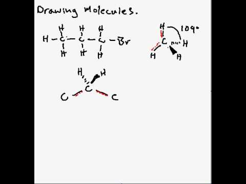 Drawing Molecules for    A Level       Chemistry     YouTube