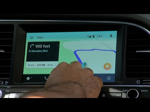 Waze makes it to Android Auto