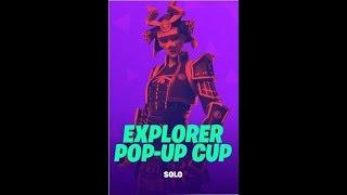 *VAMOS POR EL PIN, POP-UP CUP* #FORTNITE: Battle Royale #CR