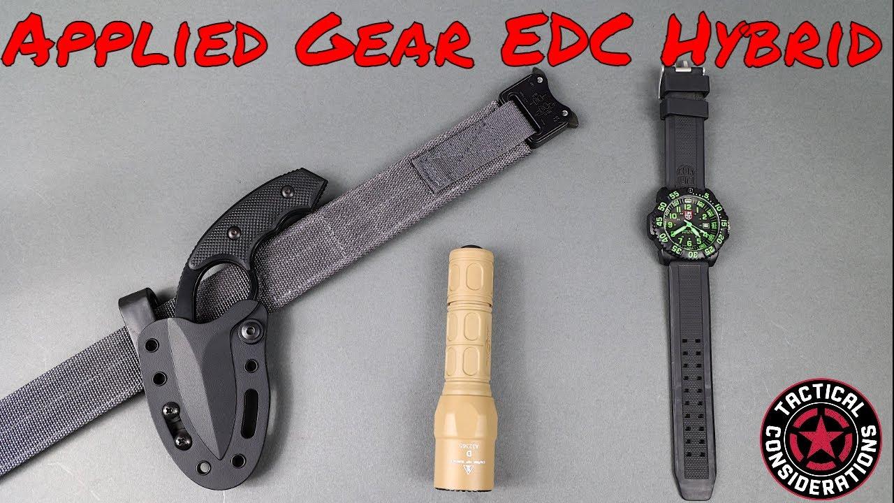 Applied Gear Hybrid Cobra Belt EDC Or Work Belt Solid
