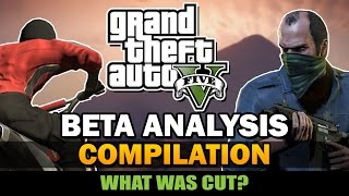 Grand Theft Auto V - Beta Analysis [Compilation]
