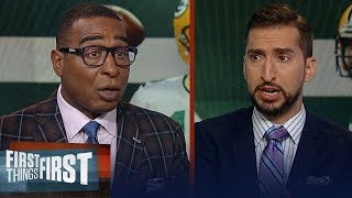 Cris & Nick on Aaron Rodgers - Matt LaFleur, keys to success for Packers | NFL | FIRST THINGS FIRST