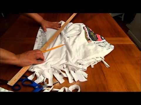 zombie t shirt shredding video tutorial youtube. Black Bedroom Furniture Sets. Home Design Ideas