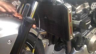 Radiateur percé Kawasaki Z750