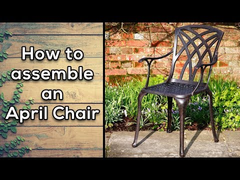 How to assemble an April Chair | Lazy Susan