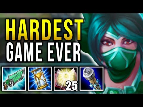 INSANE HARD-CARRYING WORST TEAM EVER! MOST DIFFICULT GAME OF MY LIFE! (DIAMOND) - League of Legends!