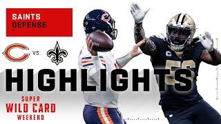 Saints Defense Dominates Da Bears