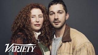 Shia Labeouf wrote 'Honey Boy' While in Rehab - Variety Studio Sundance 2019