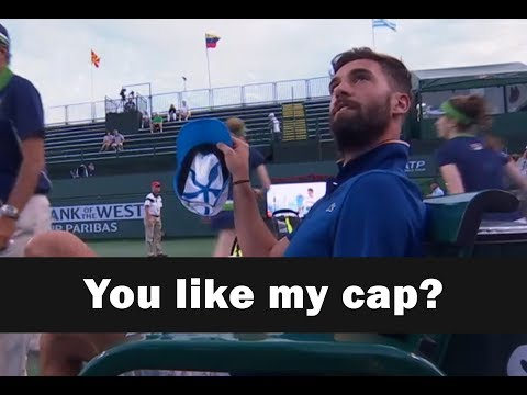 Benoît Paire loves talking (with English subtitles)