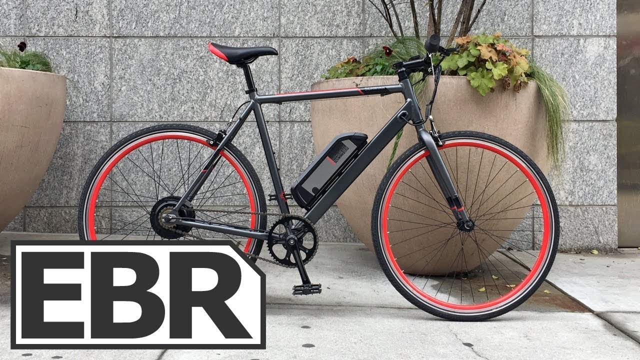 Electric Bike Review >> Schwinn Monroe 250 Video Review - $1.2k Affordable, Lightweight, Single Speed Electric Bike ...