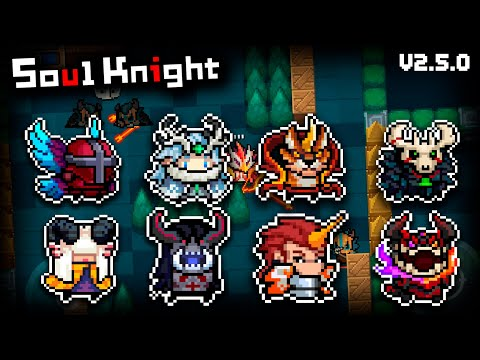 ALL NEW SPRING FESTIVAL SKINS + GAMEPLAY    Soul Knight New Update    Soul Knight 2.5.0    MaishoN
