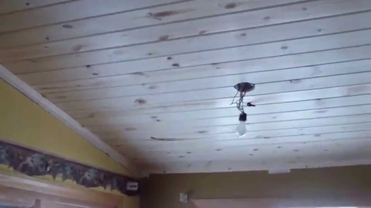 Final Day T Amp G Pine Ceiling Installation Youtube