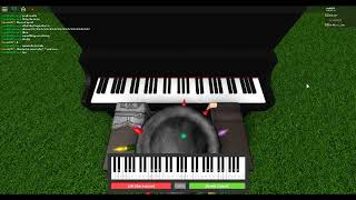 I can play piano in roblox :DD :D