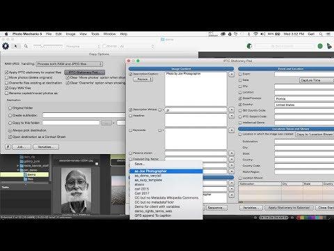 Using Photo Mechanic to work with metatdata