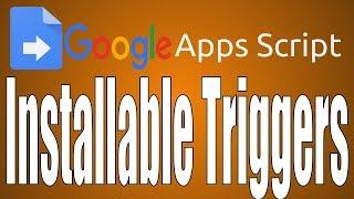 Apps Script: Installierbare Trigger