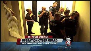 21 men arrested in sex cyber sting