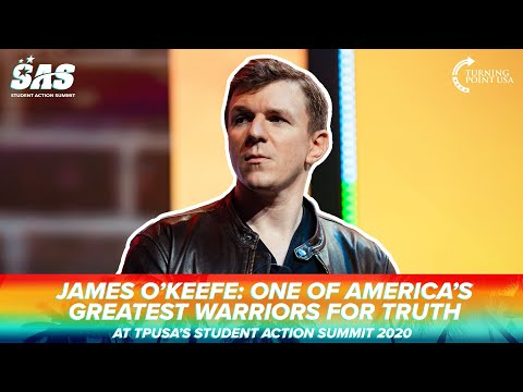 James O'Keefe: One Of America's Greatest Warriors For Truth At TPUSA's Student Action