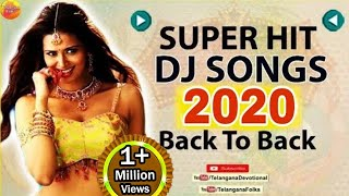 2019 Ekdham Teenmar Dj Songs  Telugu Dj Songs  Super Hit Folk Dj Songs  Telangana Folk Dj Songs