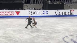 Nikita Katsalapov/Victoria Sinitsina Skate Canada SC 2018 RD Practice