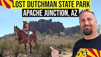 Apache Junction, Arizona: Lost Dutchman State Park | Things To Do In Phoenix Arizona