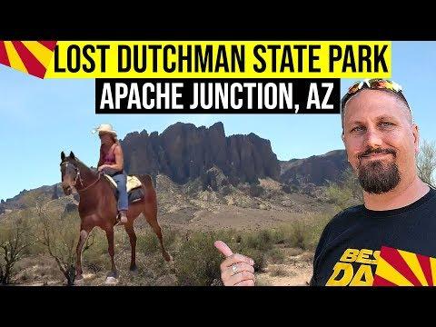 Apache Junction, Arizona: Lost Dutchman State Park | Things To Do In Phoenix Arizona