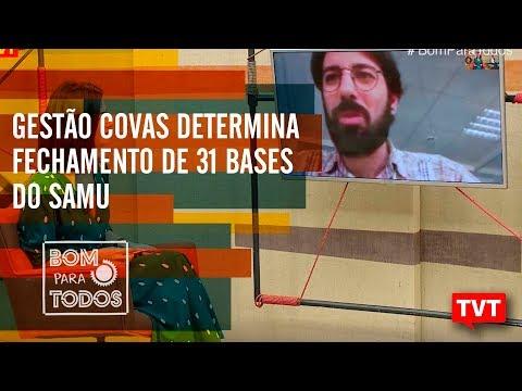 Gestão Covas determina fechamento de 31 bases do SAMU