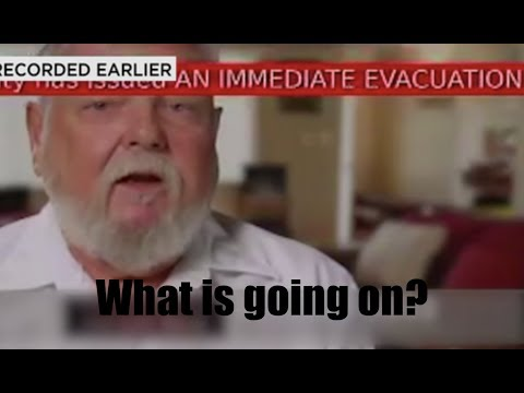 """What is going on? Another """"False Alert"""" appears on TVs. """"Evacuate"""" ?"""