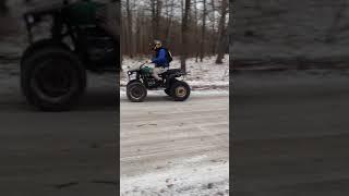 ATV за 20 тысяч рублей: первый дрифт ч.2