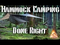 Hammock camping done right tips and required gear mp3