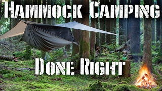 Hammock Camping Done Right: Tips and Required Gear