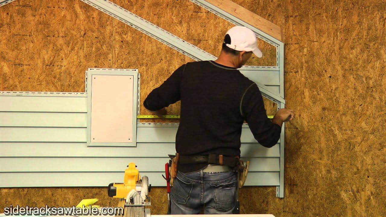 How To Install Vinyl Siding Part 1 Youtube