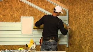 How To Install Vinyl Siding Part 1