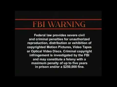 MORE FBI Copyright Warnings!