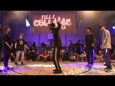 TIC2018 HipHop 3v3 Halbfinale Sydney, Joseph , Bsmart vs Gangsta Soul