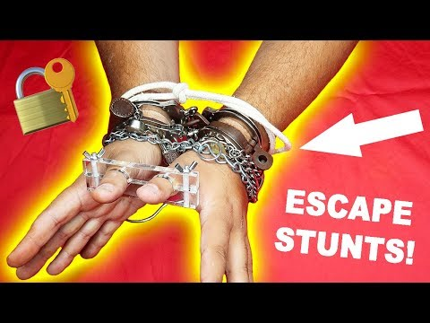 10 Magic Escape Stunts and How To Do Them!