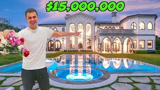 BILLIONAIRE'S NEW MANSION !!!