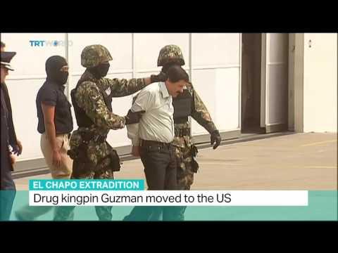 El Chapo Extradition: Joaquin Guzman 'El Chapo' Handed Over To US