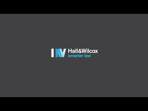 What does Hall & Wilcox offer to law graduates?